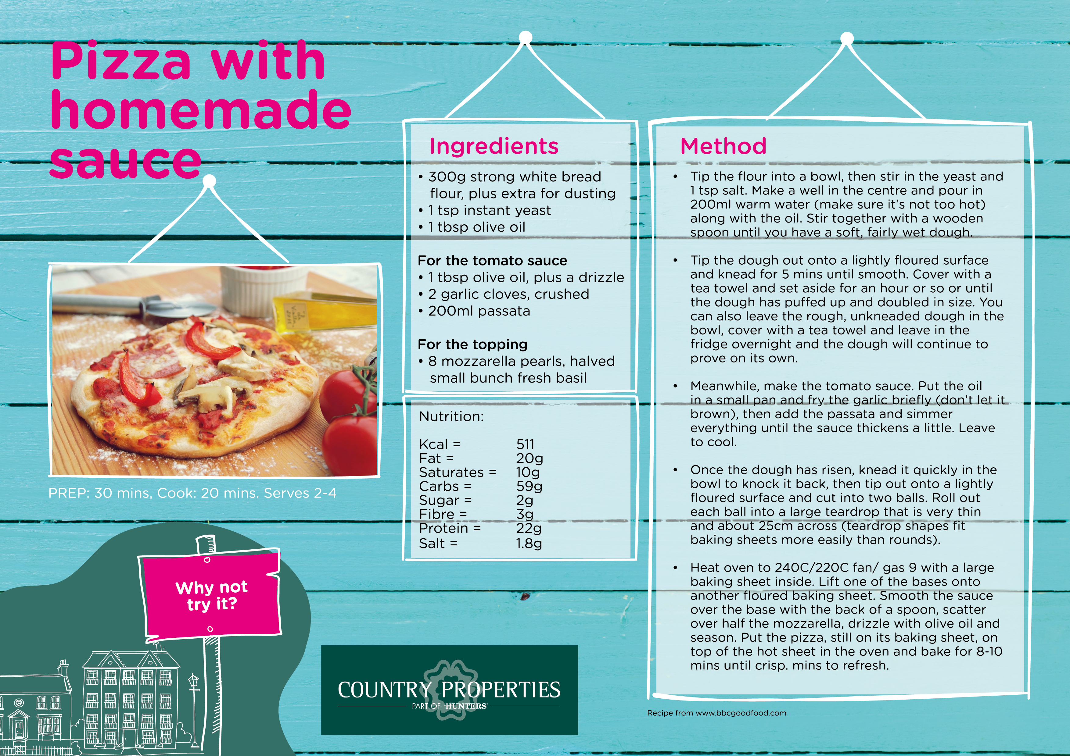 Country Properties Activity Zone - Homemade Pizza